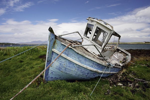 My brother actually found this boat via Google Maps and we went to Roundstone specifically to photograph it. As you can see, it was still there!