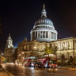 Photographing London: St. Paul's Cathedral and Double Decker Bus