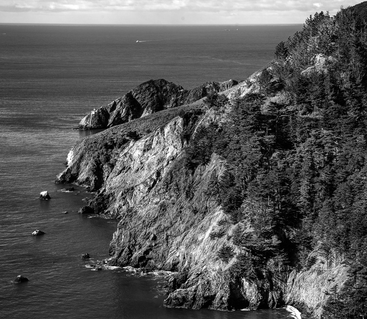 Back to Front Composition example - Marin Headlands, California