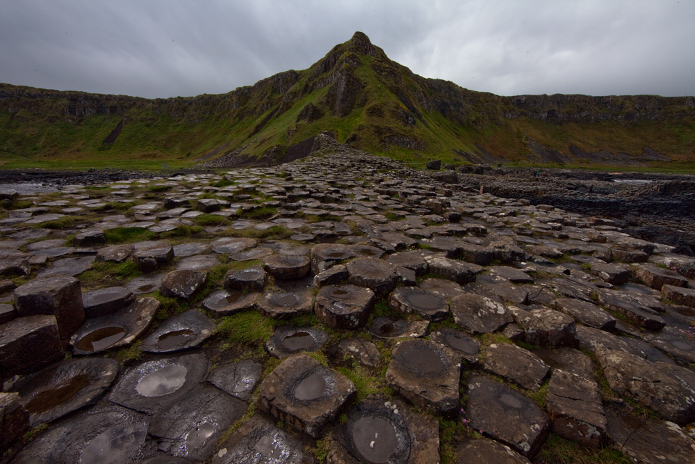Looking back at Giant's Causeway
