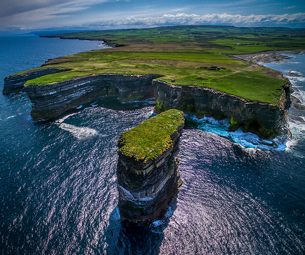 A shot from my DJI Phantom 3 Advanced taken on a prior trip to Ireland.