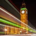 Westminster Bridge: Streaking Lights