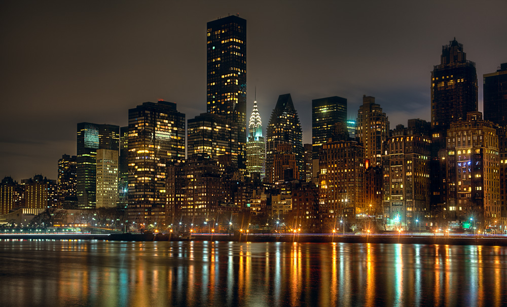 Roosevelt Island Picture - A Framework for Composing Your Photos
