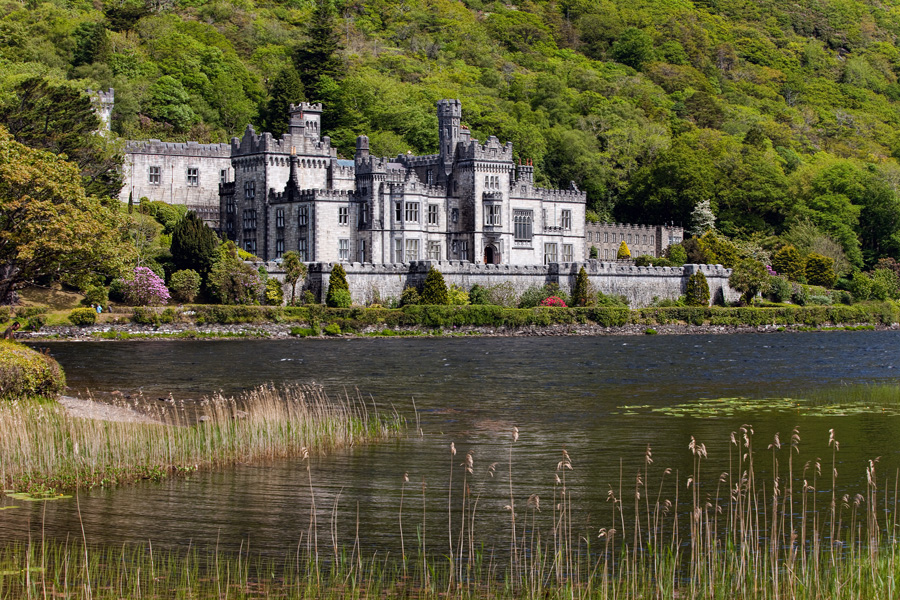 Obvious shot of Kylemore Abbey