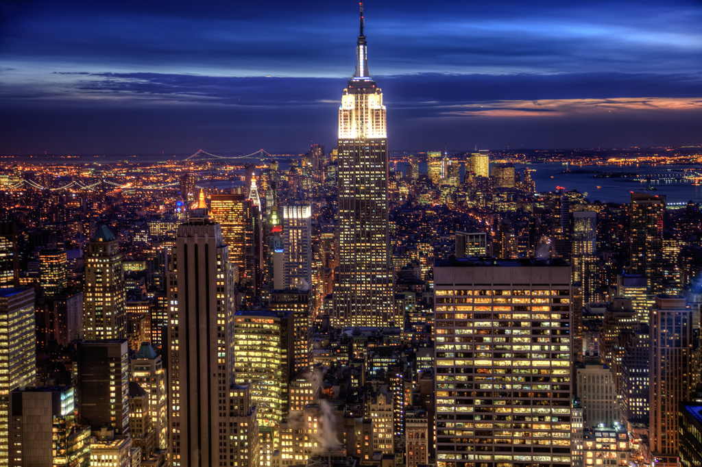 Uses of Monopods - Top of the Rock in New York