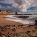 Back to Front Composition example - Davenport California